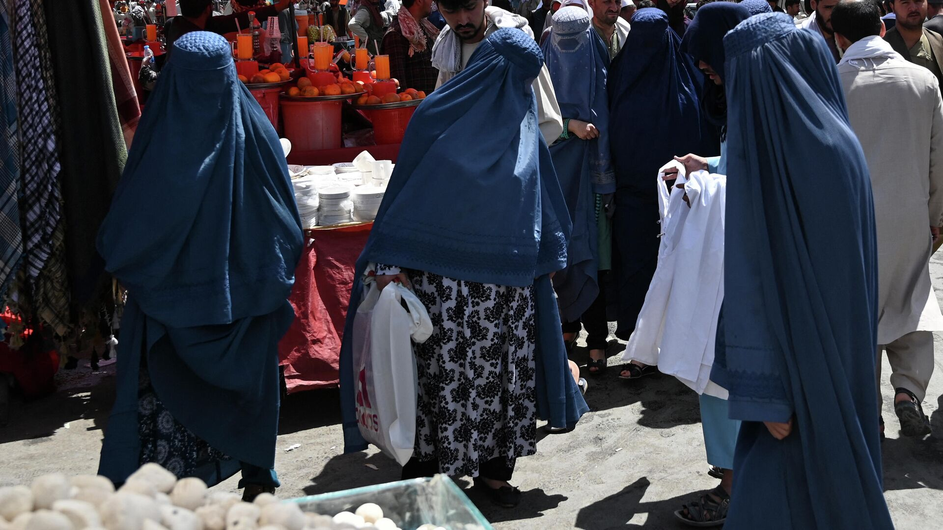 Mujeres afganas (imagen referencial) - Sputnik Mundo, 1920, 30.08.2021