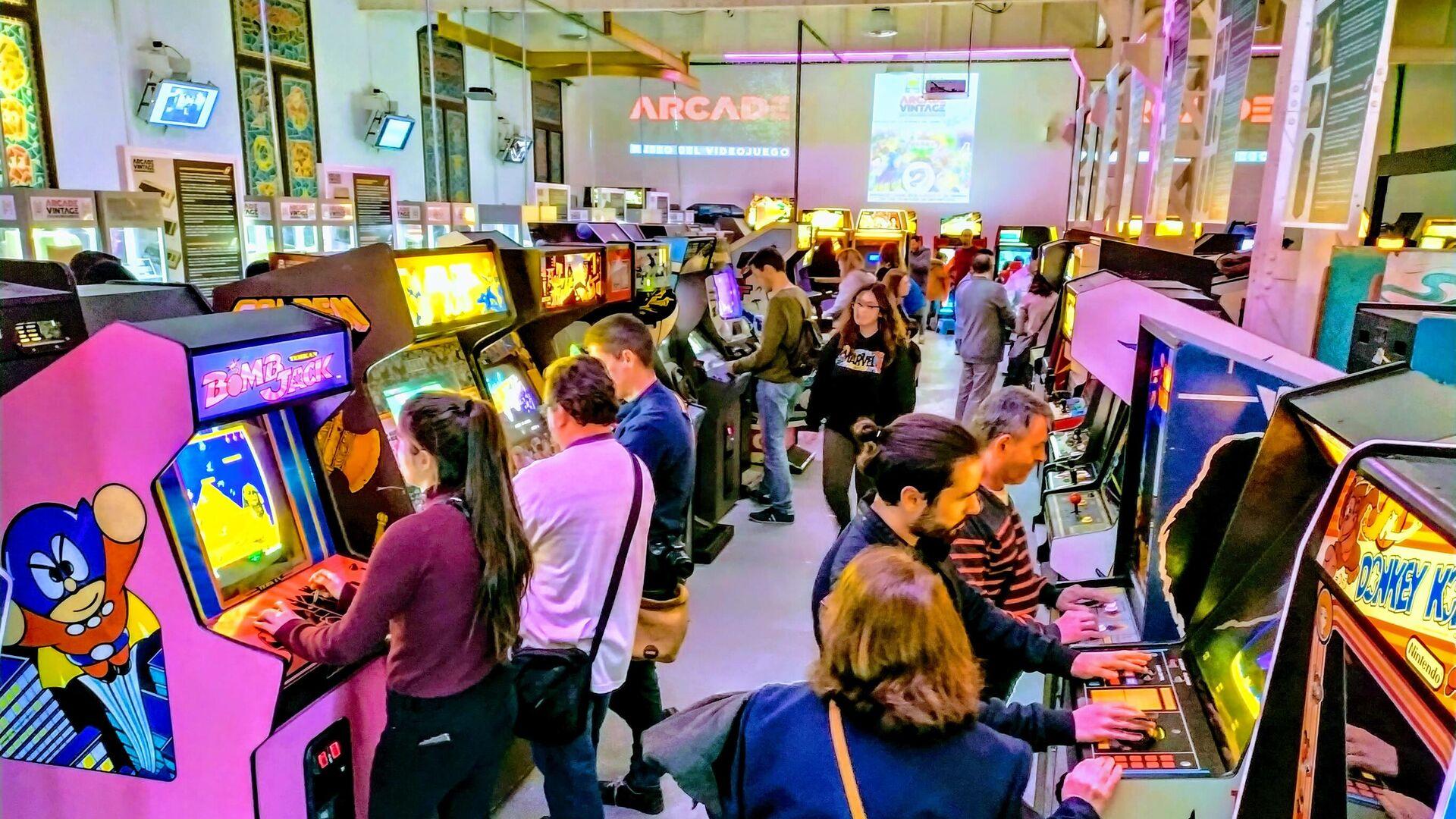 Imagen de Arcade Vintage, el museo del videojuego en la localidad alicantina de Ibi, en España - Sputnik Mundo, 1920, 31.08.2021