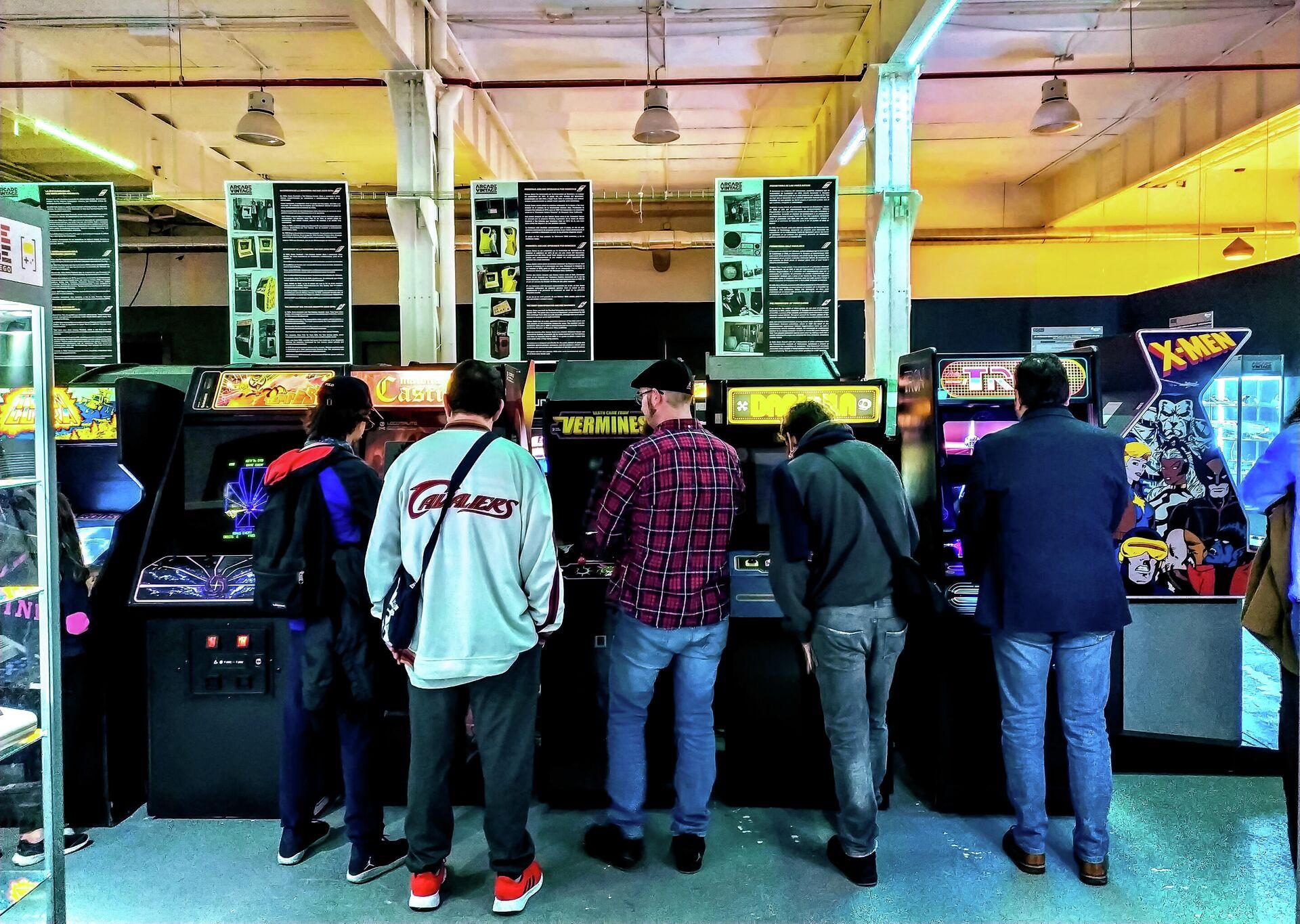 Imagen de Arcade Vintage, el museo del videojuego en la localidad alicantina de Ibi, en España - Sputnik Mundo, 1920, 30.08.2021