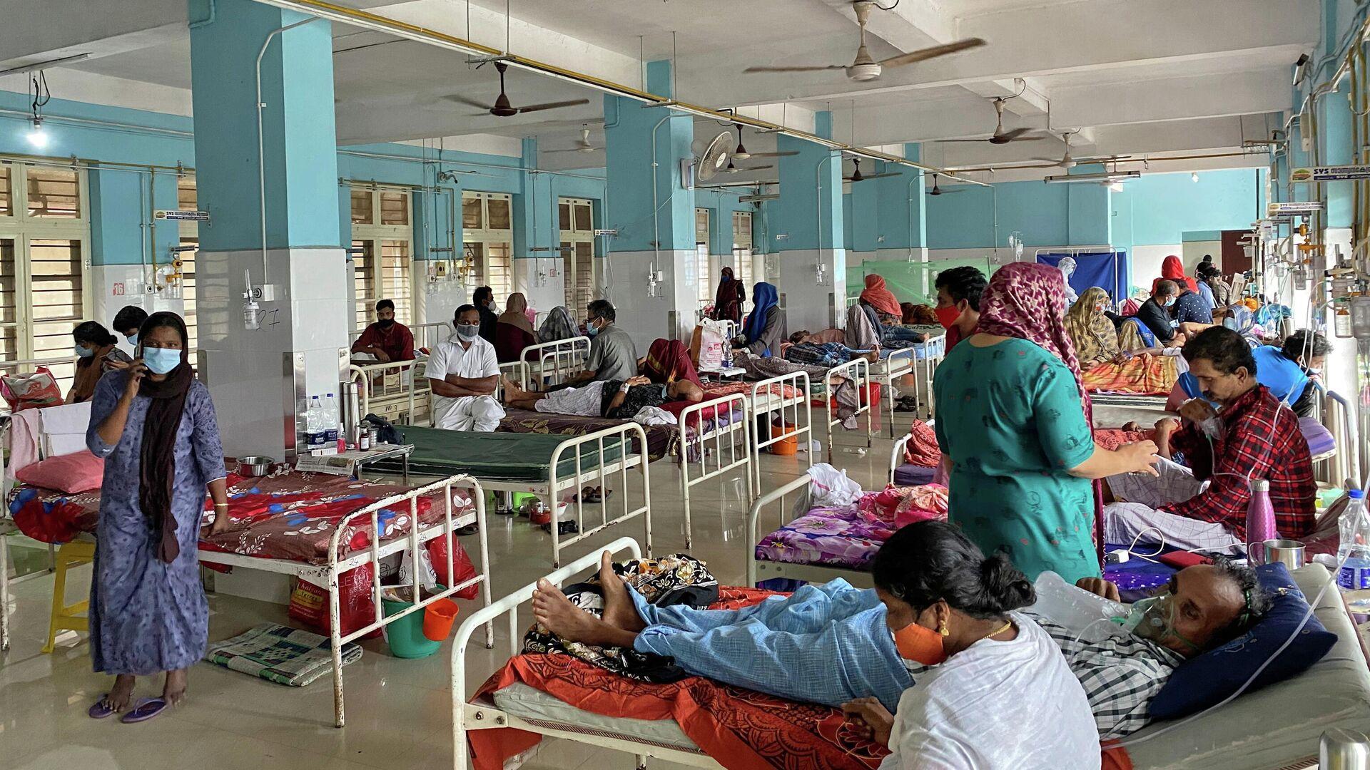 Un hospital en la India - Sputnik Mundo, 1920, 30.08.2021