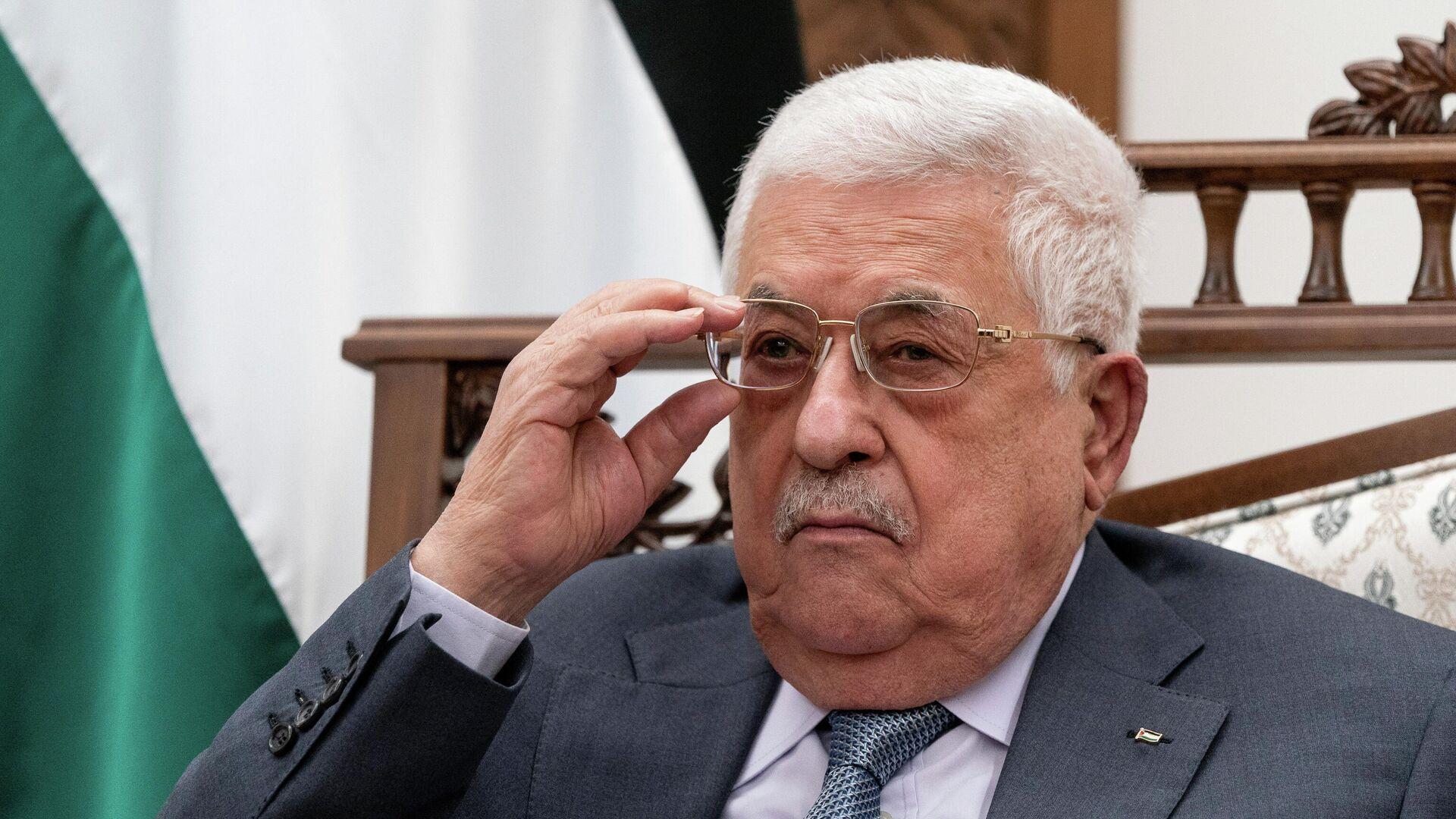 Mahmud Abás, presidente de la Autoridad Nacional Palestina - Sputnik Mundo, 1920, 30.08.2021