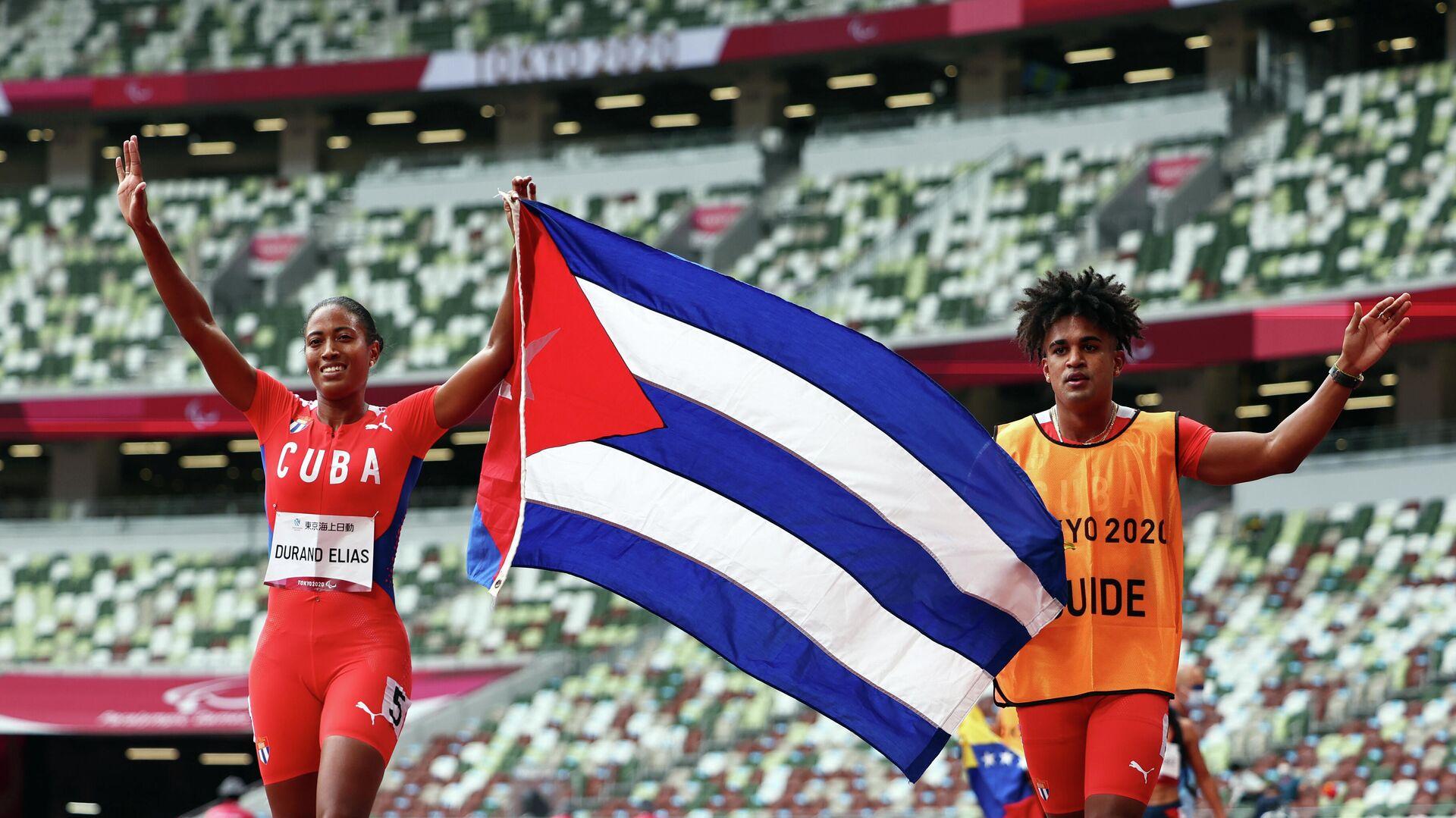 La velocista cubana Omara Durand - Sputnik Mundo, 1920, 02.09.2021