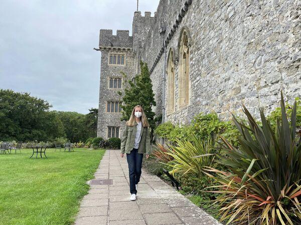 La Princesa Leonor en el castillo que alberga el UWC Atlantic College - Sputnik Mundo
