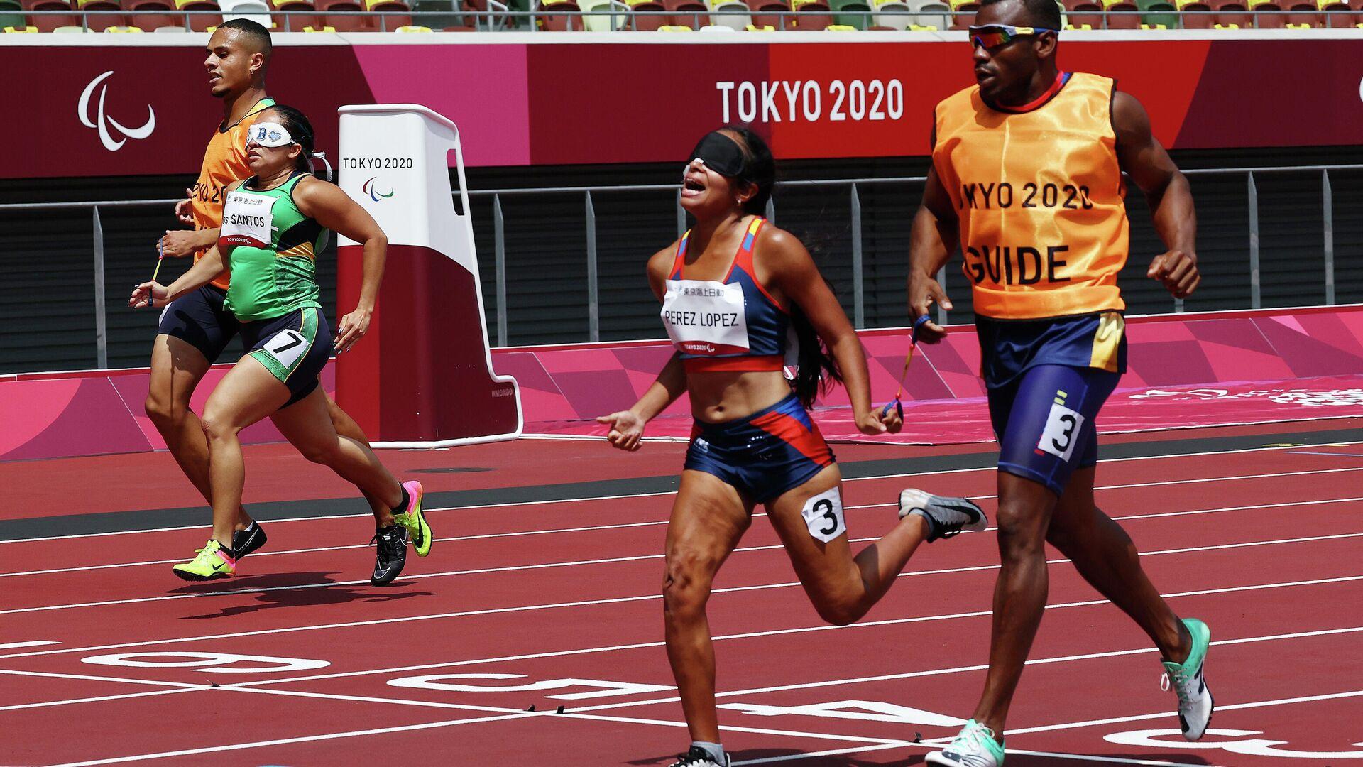 Linda Pérez, atleta venezolana participando en los Juegos Paralímpicos de Tokio - Sputnik Mundo, 1920, 31.08.2021