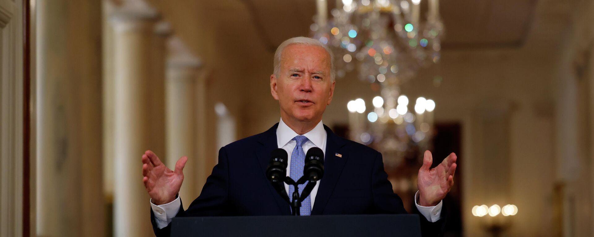 Joe Biden, presidente de EEUU - Sputnik Mundo, 1920, 31.08.2021