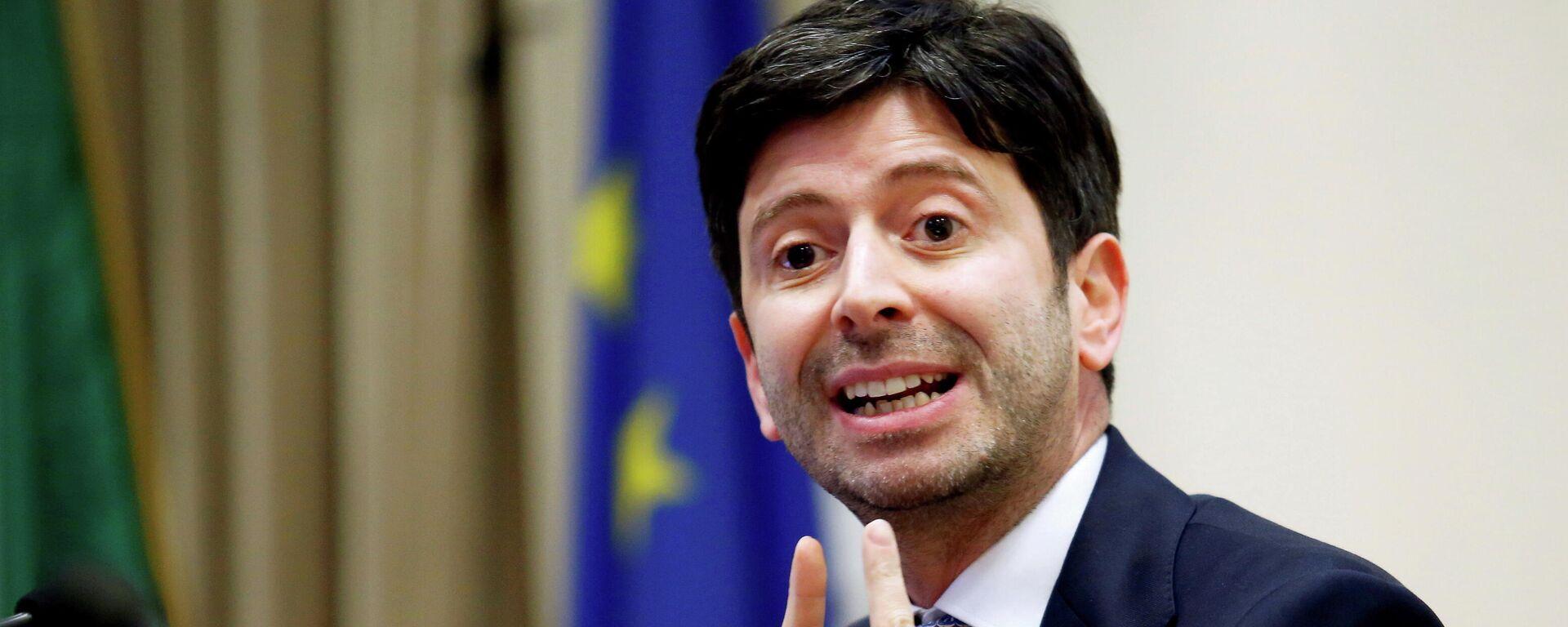 Roberto Speranza, ministro de Sanidad de Italia - Sputnik Mundo, 1920, 01.09.2021