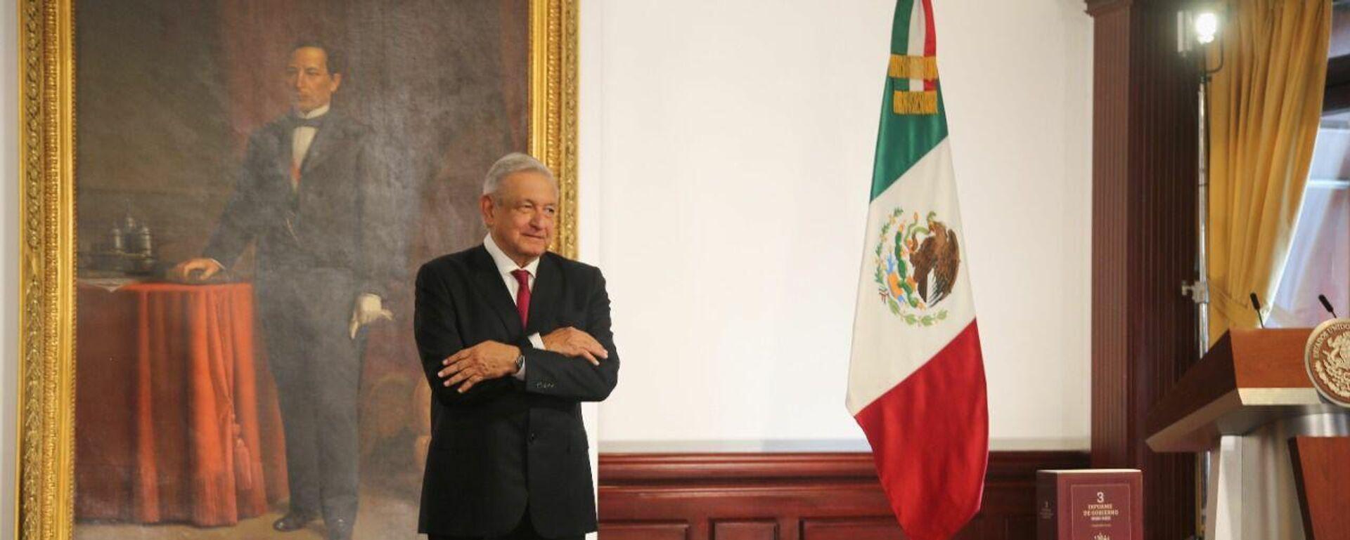 Andrés Manuel López Obrador, presidente de México - Sputnik Mundo, 1920, 01.09.2021