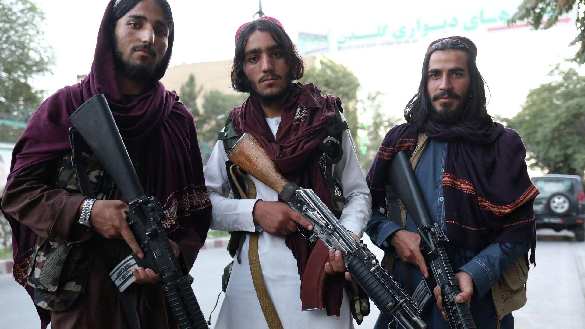 Talibanes - Sputnik Mundo, 1920, 02.09.2021