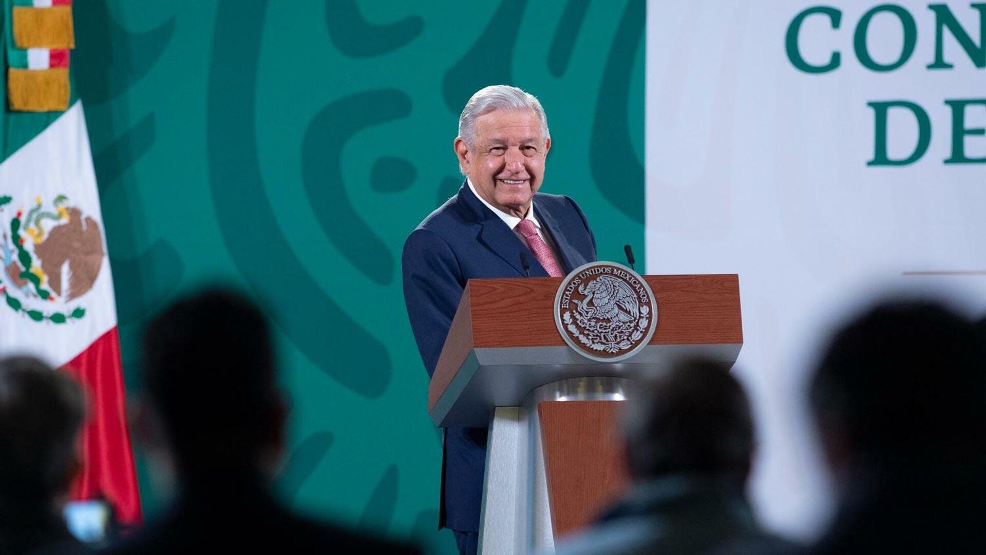 Andrés Manuel López Obrador - Sputnik Mundo, 1920, 02.09.2021