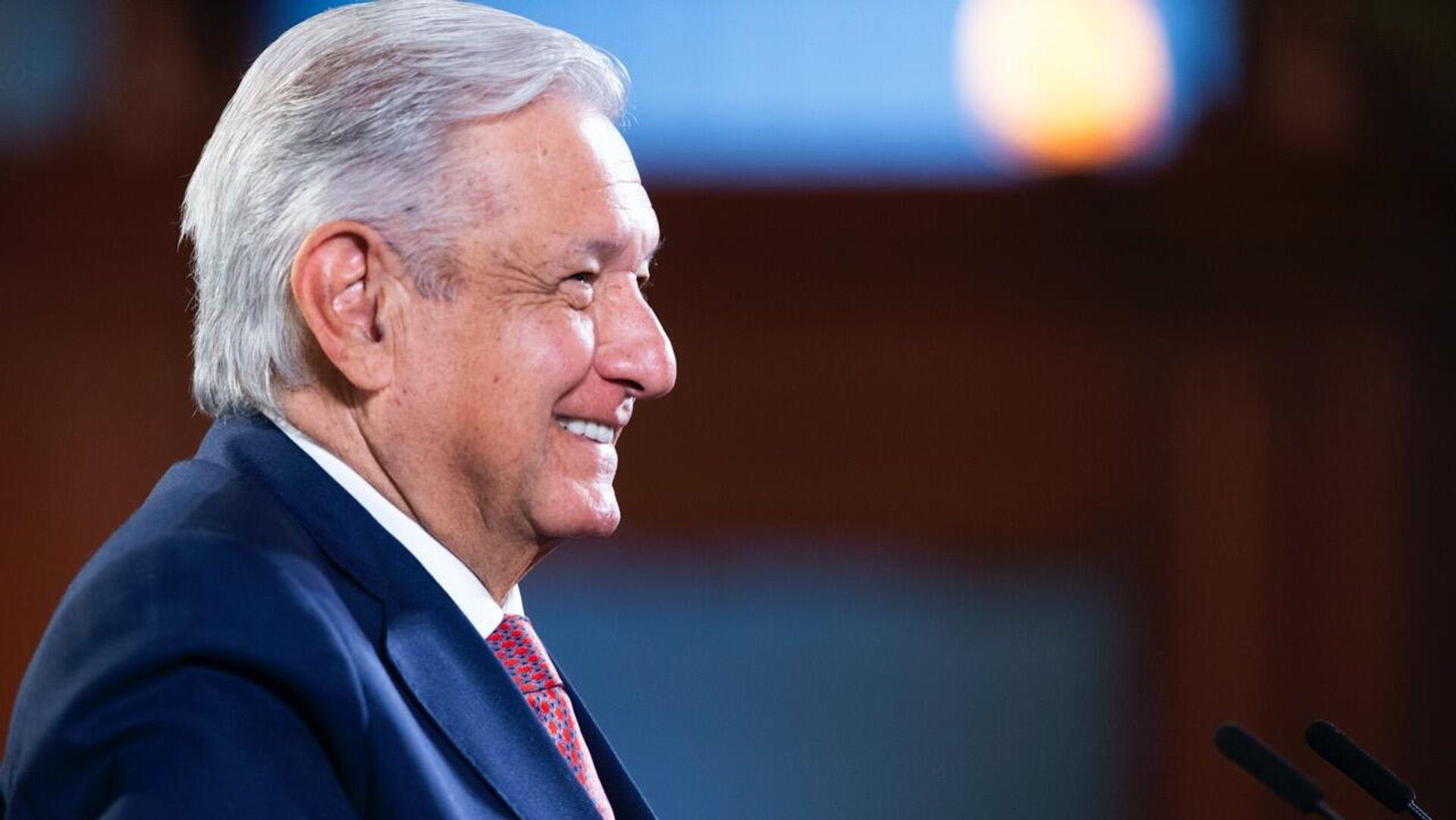 Andrés Manuel López Obrador, presidente de México - Sputnik Mundo, 1920, 02.09.2021