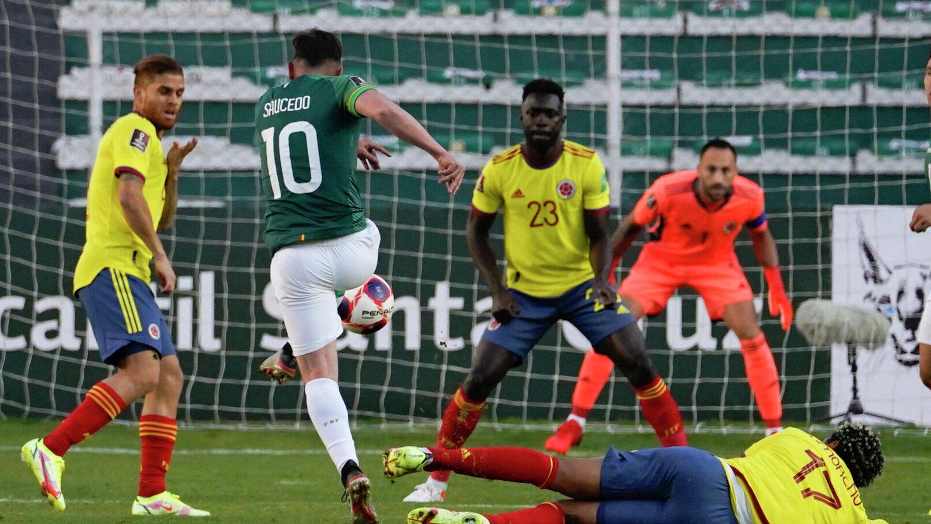 Colombia y Bolivia empatan 1-1 en novena fecha de eliminatorias a Catar  2022 - 03.09.2021, Sputnik Mundo