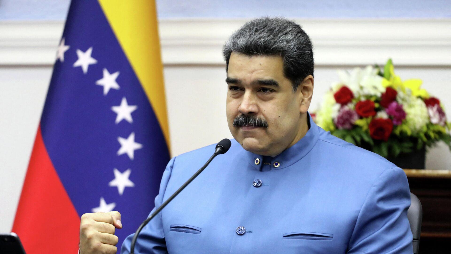 Nicolás Maduro, presidente de Venezuela - Sputnik Mundo, 1920, 03.09.2021