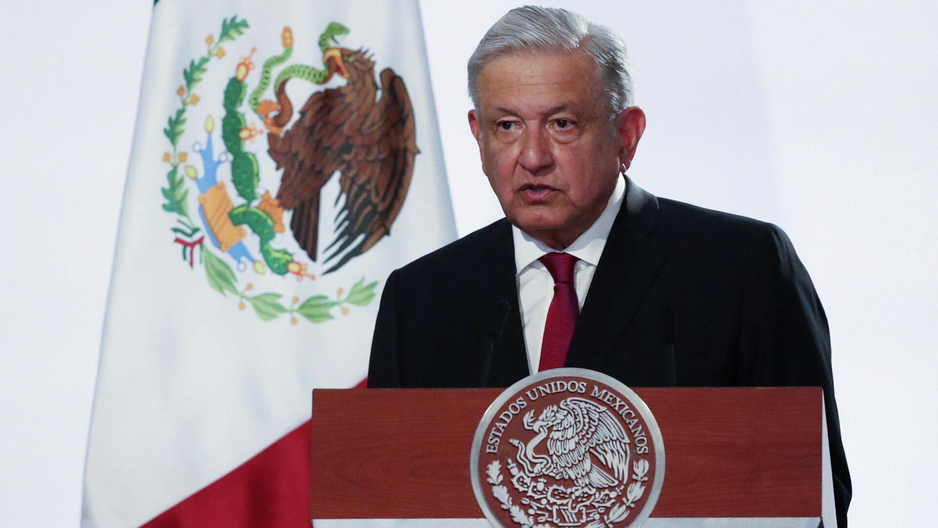 Andrés Manuel López Obrador, presidente de México  - Sputnik Mundo, 1920, 09.09.2021