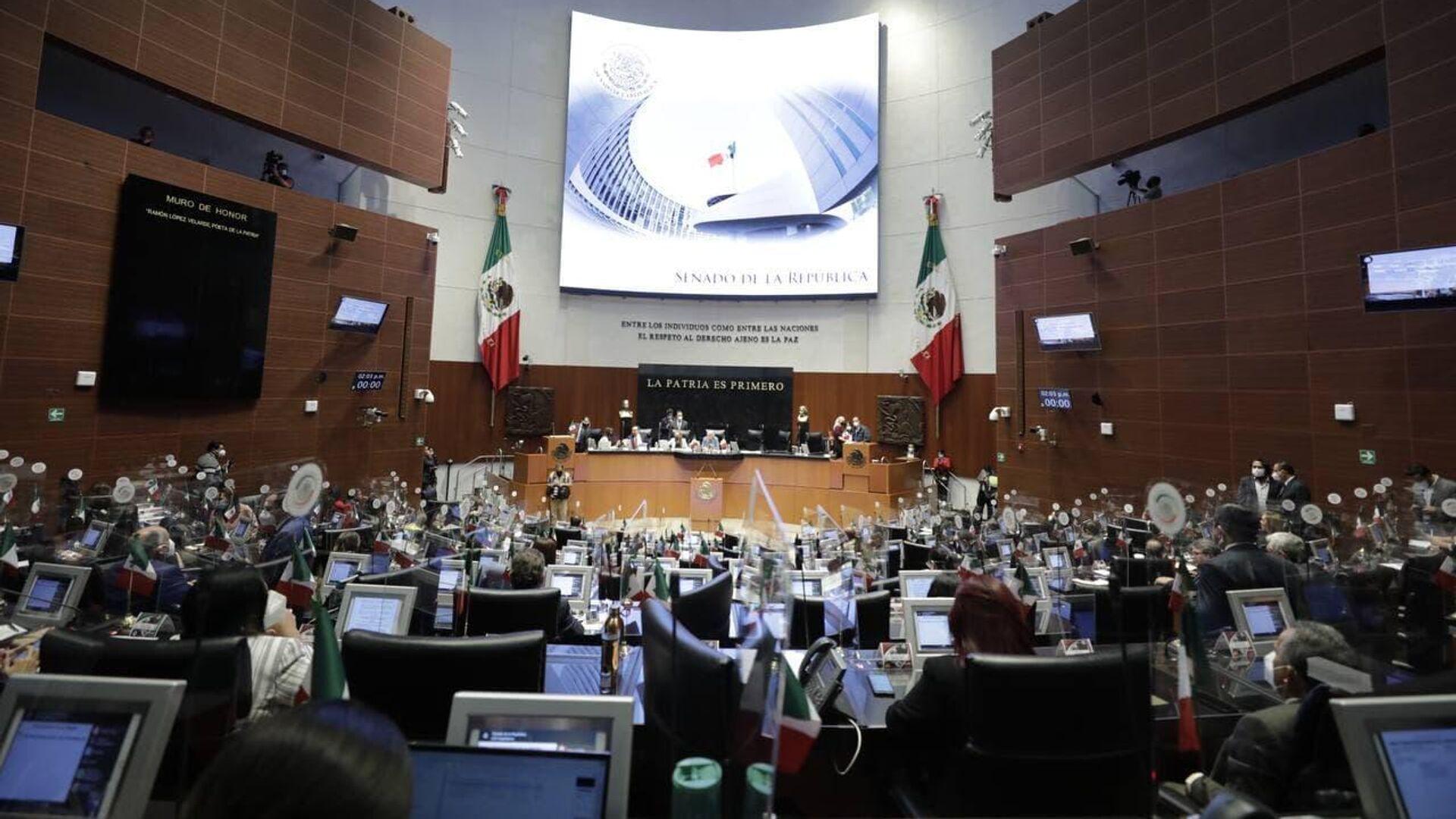 Senado de México.  - Sputnik Mundo, 1920, 03.09.2021