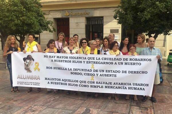 Acto de Alumbra en Málaga - Sputnik Mundo