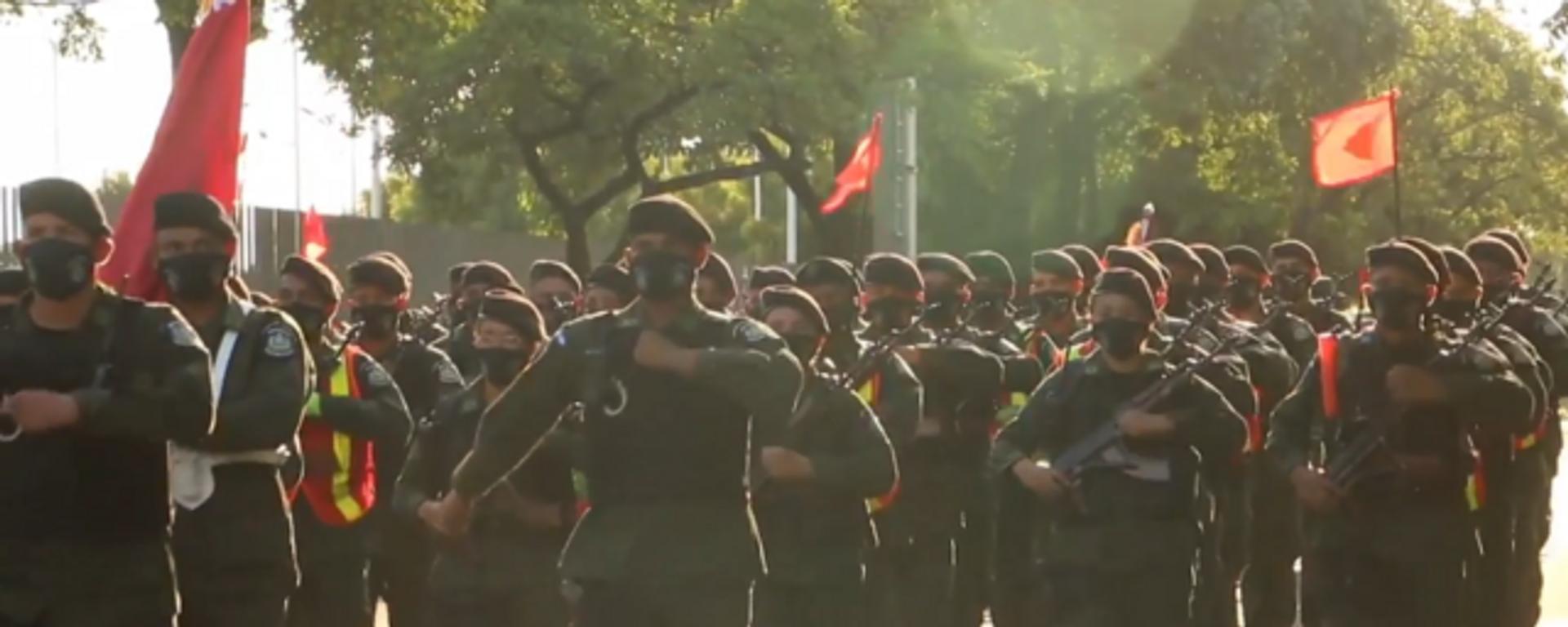 Vídeo: el Ejército de Nicaragua celebra sus 42 años con un desfile en Managua - Sputnik Mundo, 1920, 04.09.2021