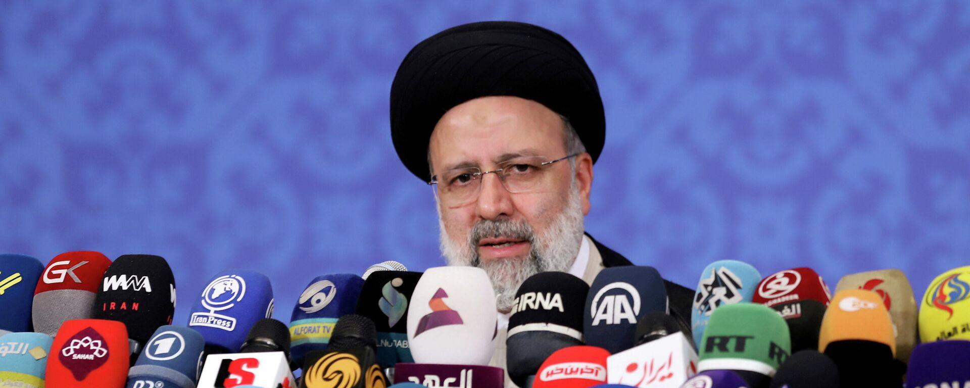 Ebrahim Raisi, presidente iraní - Sputnik Mundo, 1920, 05.09.2021
