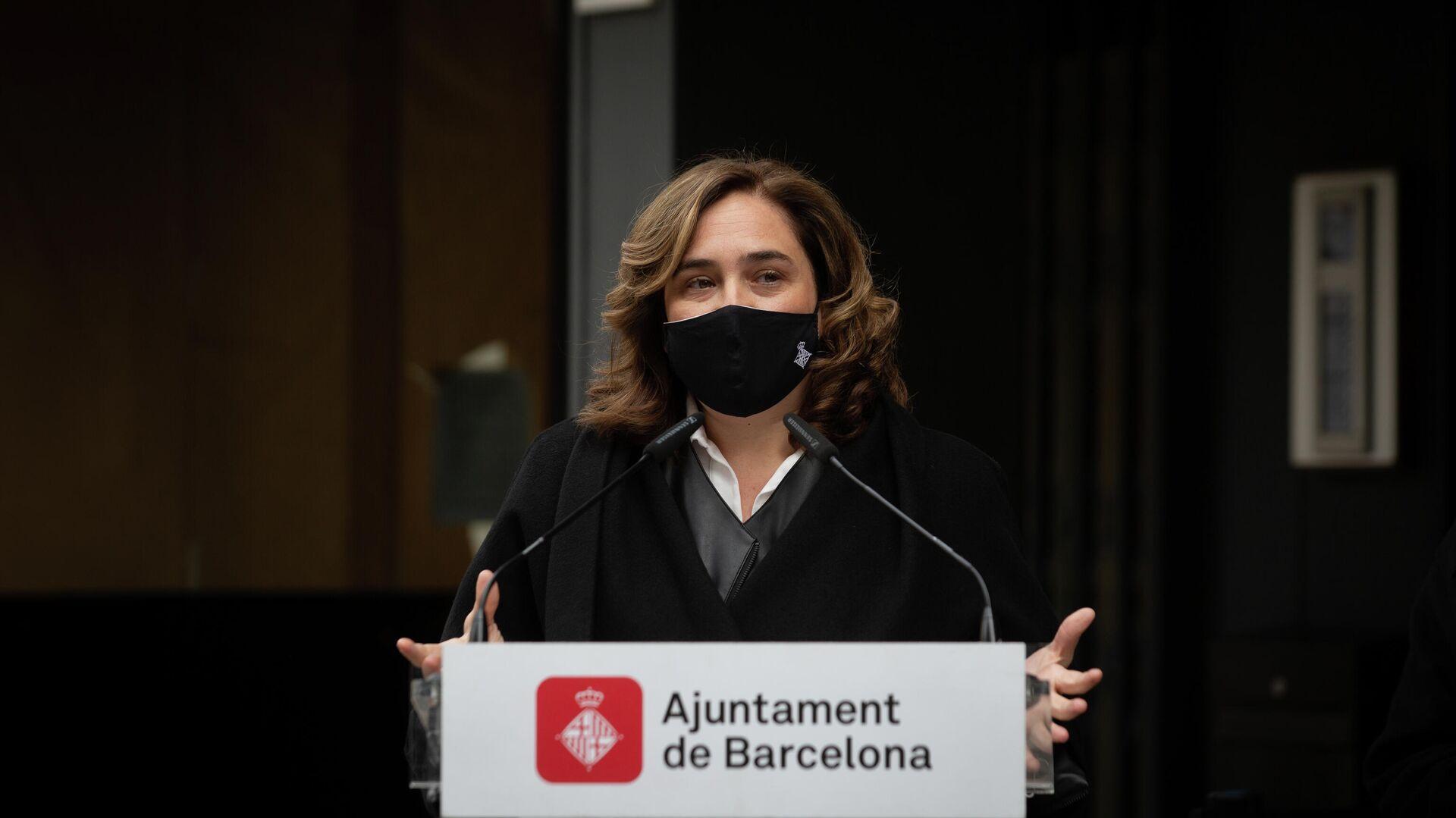 La alcaldesa de Barcelona, Ada Colau - Sputnik Mundo, 1920, 06.09.2021