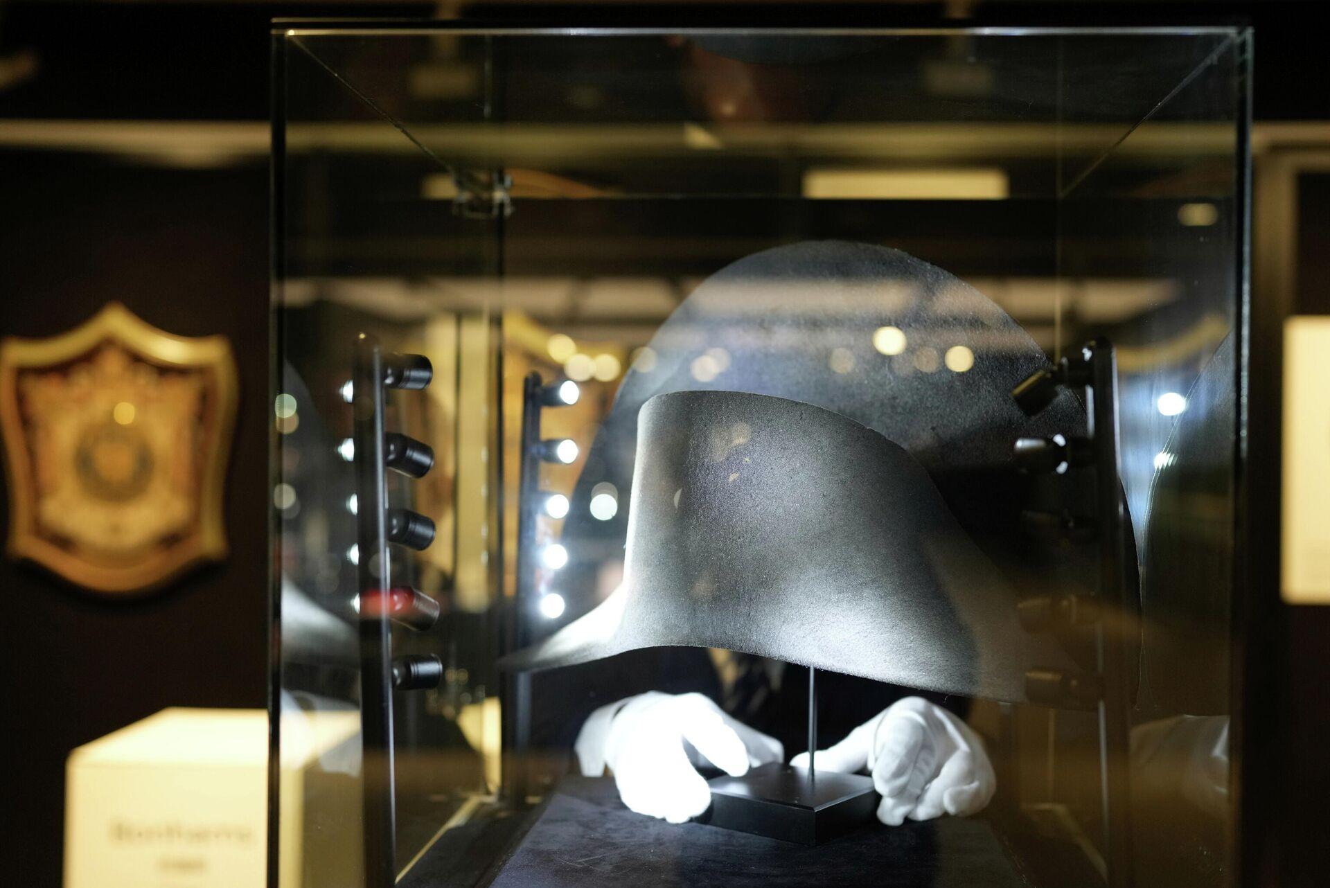 El sombrero en el que se encontró ADN de Napoleón y que se subastará en breve - Sputnik Mundo, 1920, 06.09.2021
