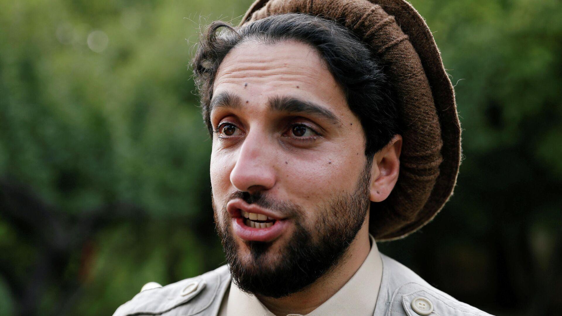 Ahmad Masud, líder de las fuerzas de resistencia afganas en el valle de Panshir - Sputnik Mundo, 1920, 06.09.2021