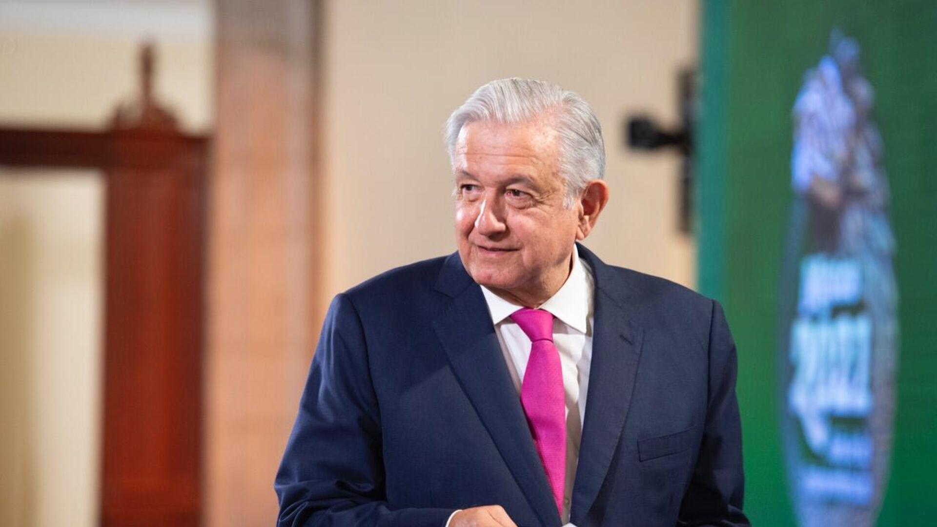 Andrés Manuel López Obrador, presidente de México. - Sputnik Mundo, 1920, 06.09.2021