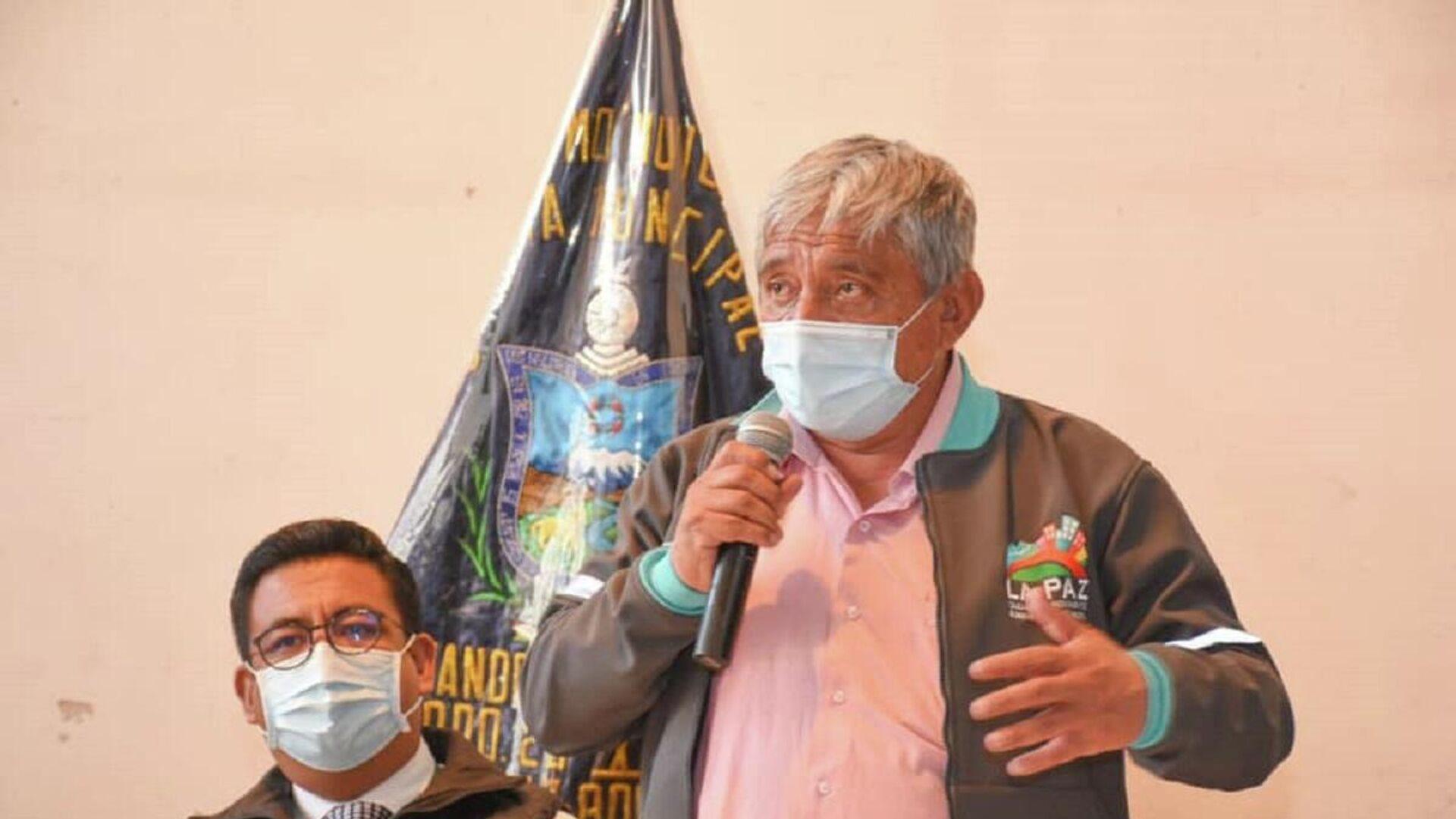 Alcalde de La Paz, Iván Arias - Sputnik Mundo, 1920, 06.09.2021