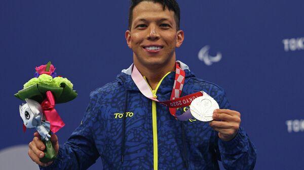 El nadador colombiano Nelson Crispín - Sputnik Mundo