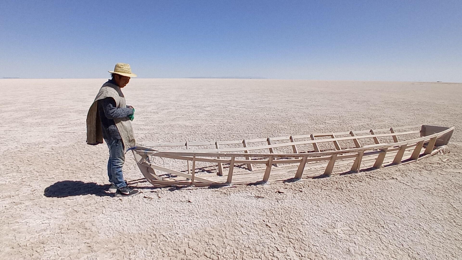 Sequía del lago Poopó, en Oruro, Bolivia - Sputnik Mundo, 1920, 07.09.2021