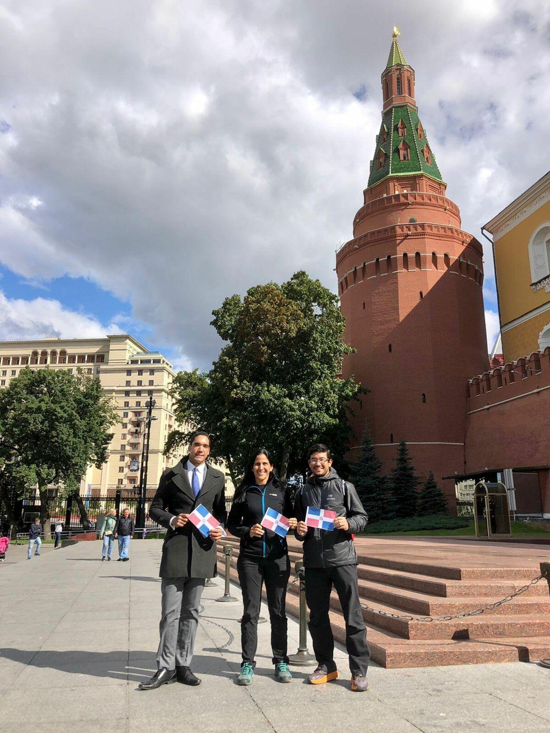 Thais Herrera y Kenji Kasahara en la Plaza Roja de Moscú - Sputnik Mundo, 1920, 07.09.2021