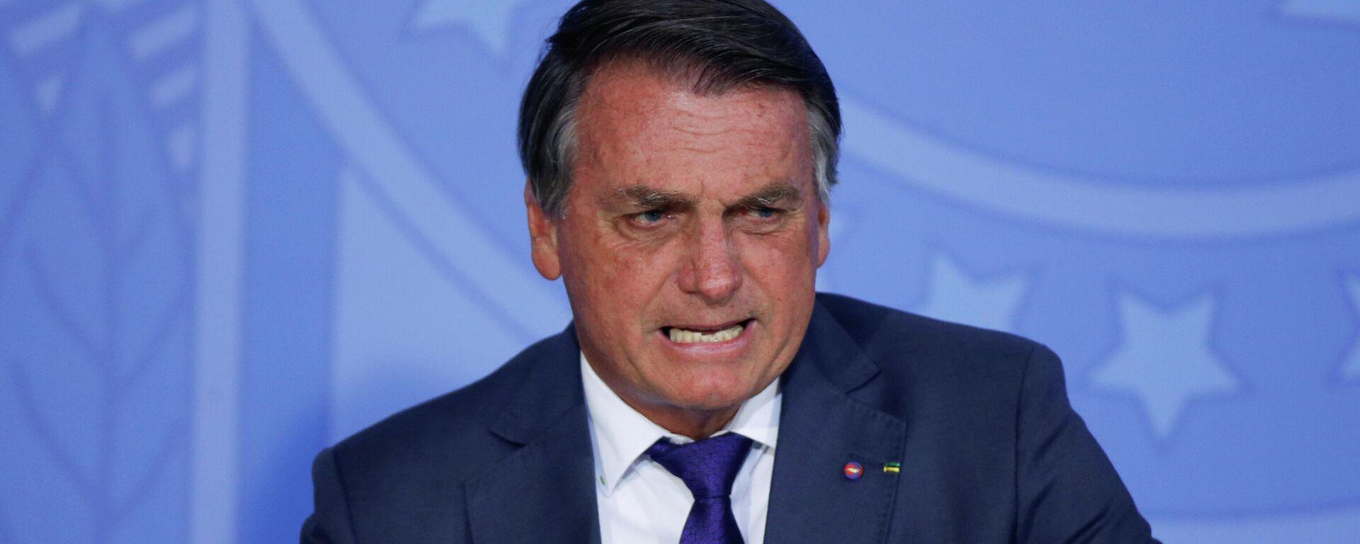 El presidente de Brasil, Jair Bolsonaro - Sputnik Mundo, 1920, 07.09.2021