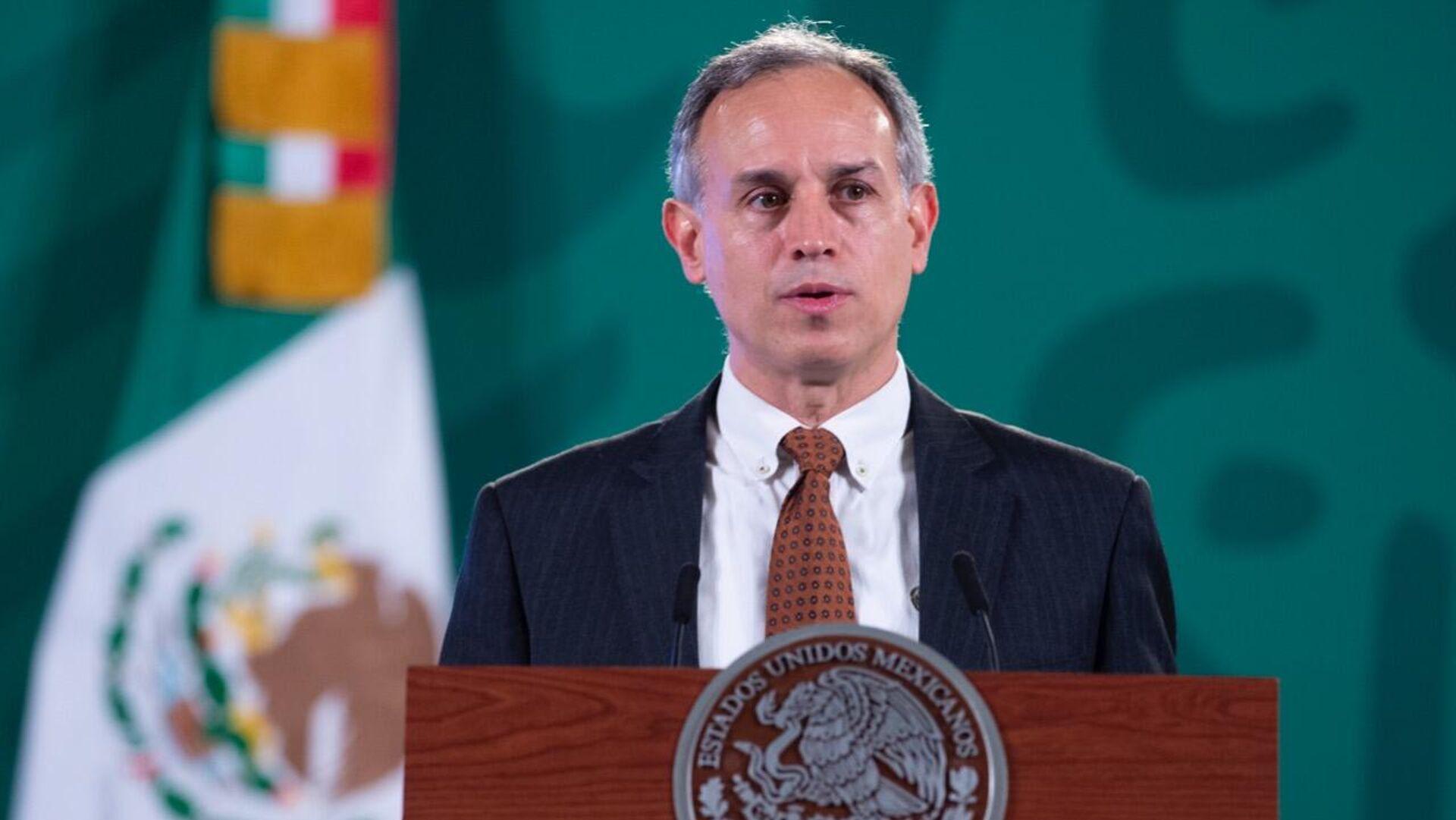 Hugo López-Gatell, subsecretario mexicano de Prevención y Promoción de la Salud - Sputnik Mundo, 1920, 07.09.2021