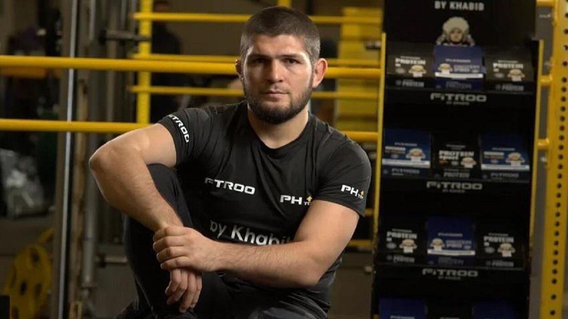 El excampeón invicto de peso ligero de la UFC Khabib Nurmagomédov - Sputnik Mundo, 1920, 07.09.2021