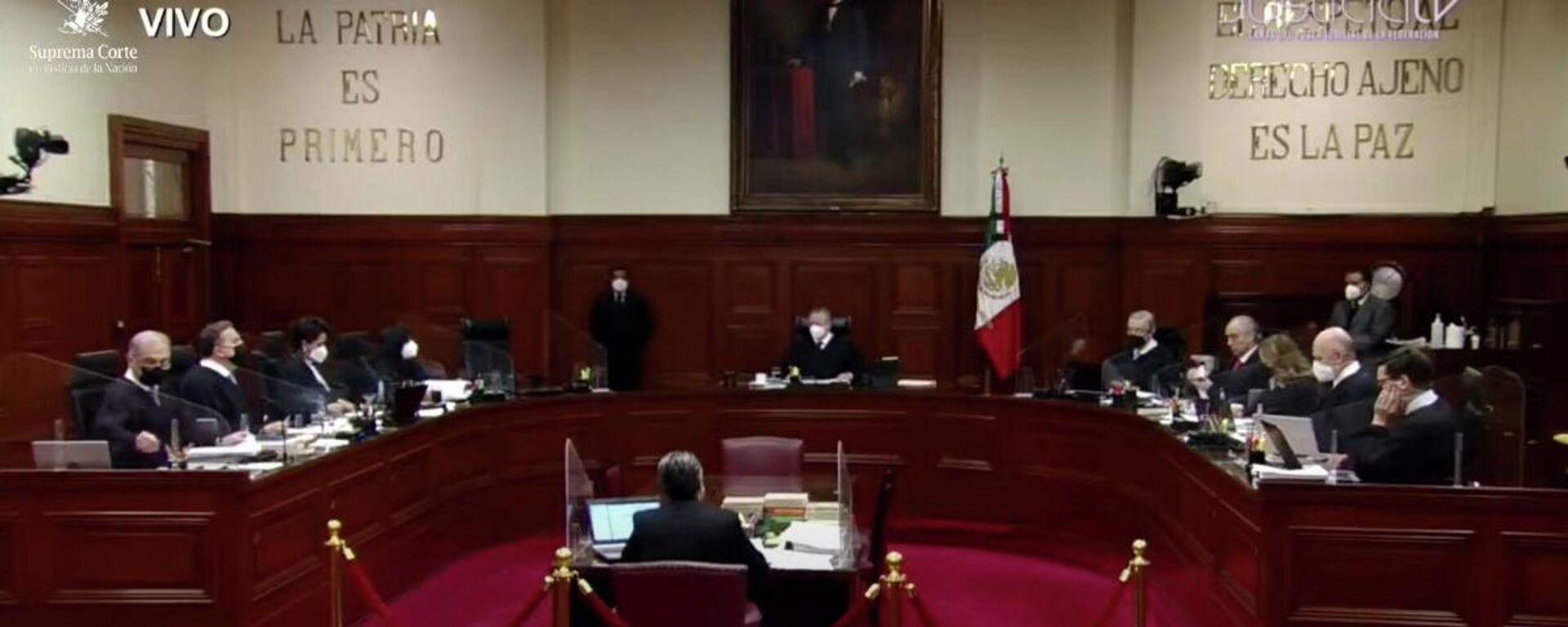 Suprema Corte de Justicia de la Nación.  - Sputnik Mundo, 1920, 07.09.2021