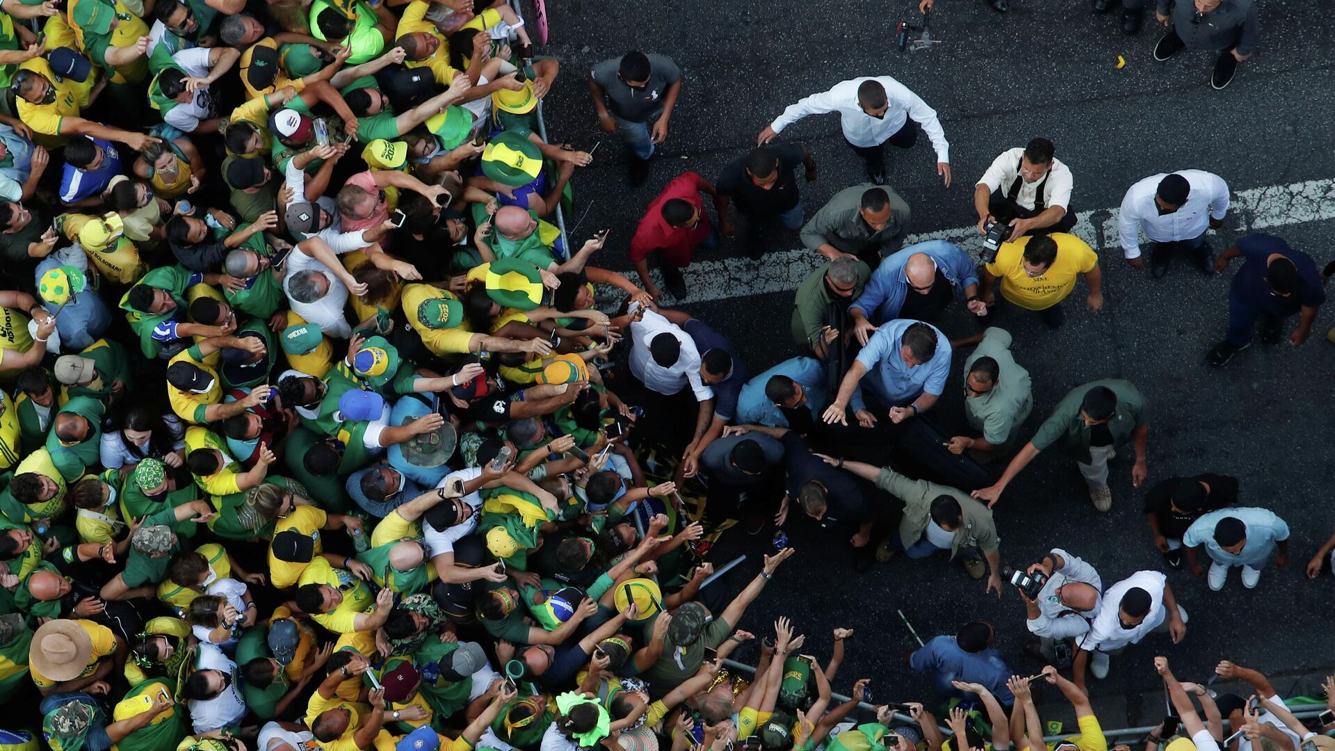 Jair Bolsonaro, presidente de Brasil - Sputnik Mundo, 1920, 07.09.2021