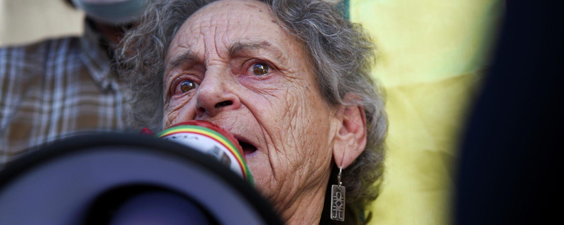 Amparo Carvajal, presidenta de la Asamblea Permanente de Derechos Humanos de Bolivia (APDHB) - Sputnik Mundo, 1920, 07.09.2021