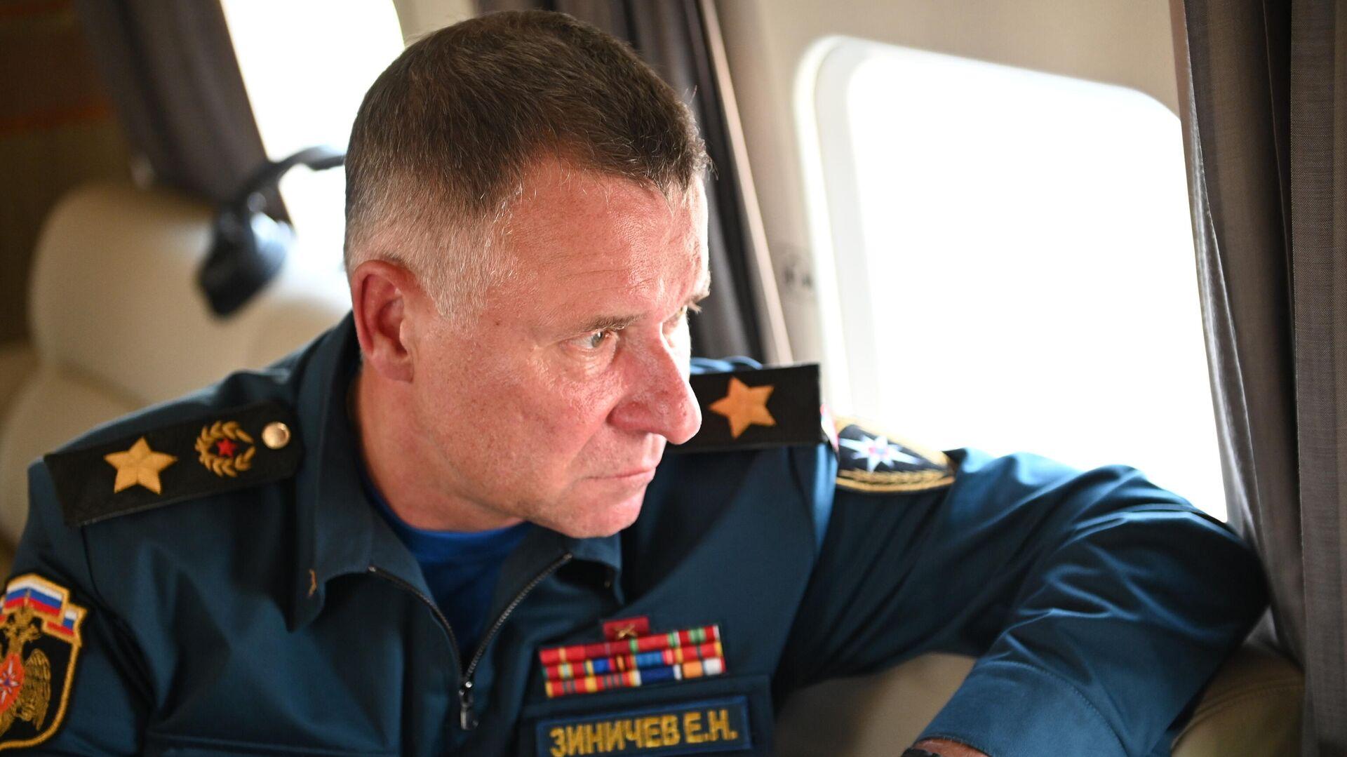 Evgueni Zínichev, ministro de Emergencias de Rusia - Sputnik Mundo, 1920, 08.09.2021