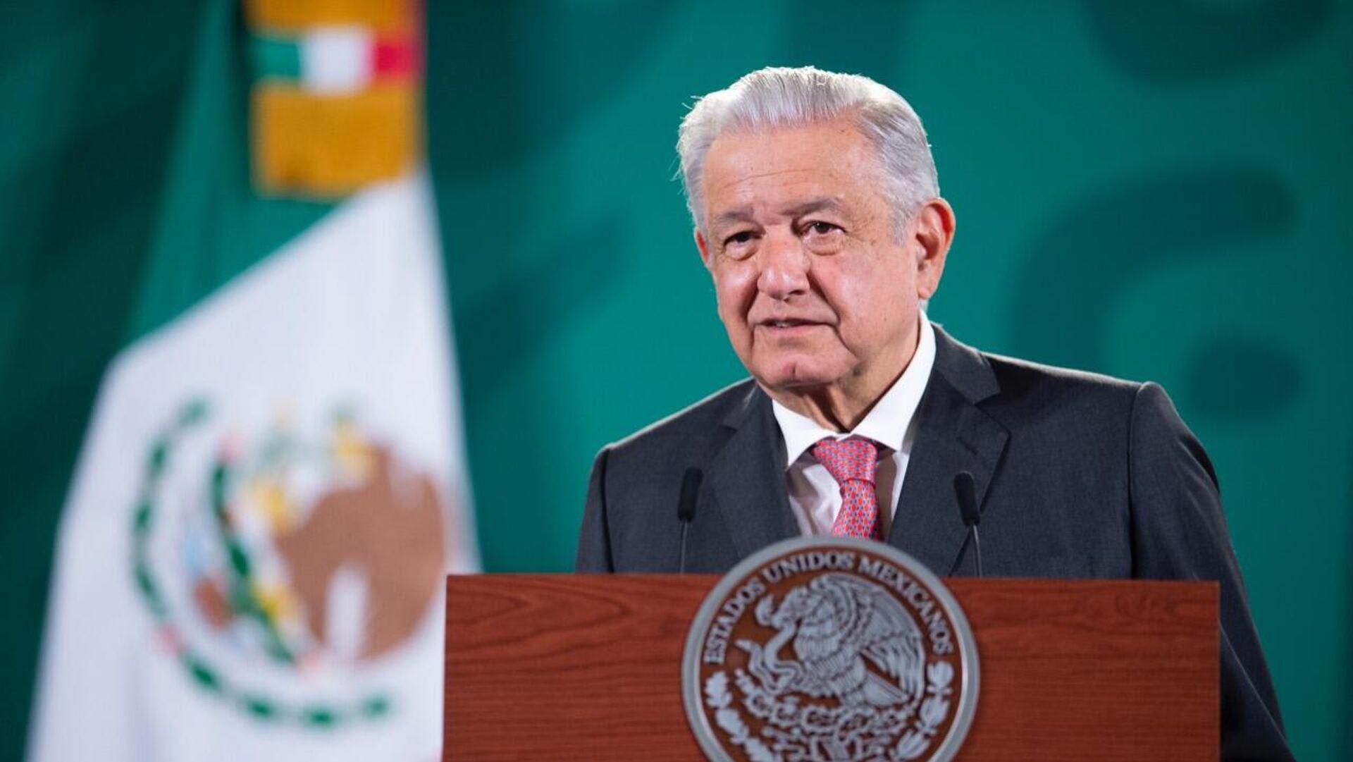 Andrés Manuel López Obrador, presidente de México - Sputnik Mundo, 1920, 08.09.2021