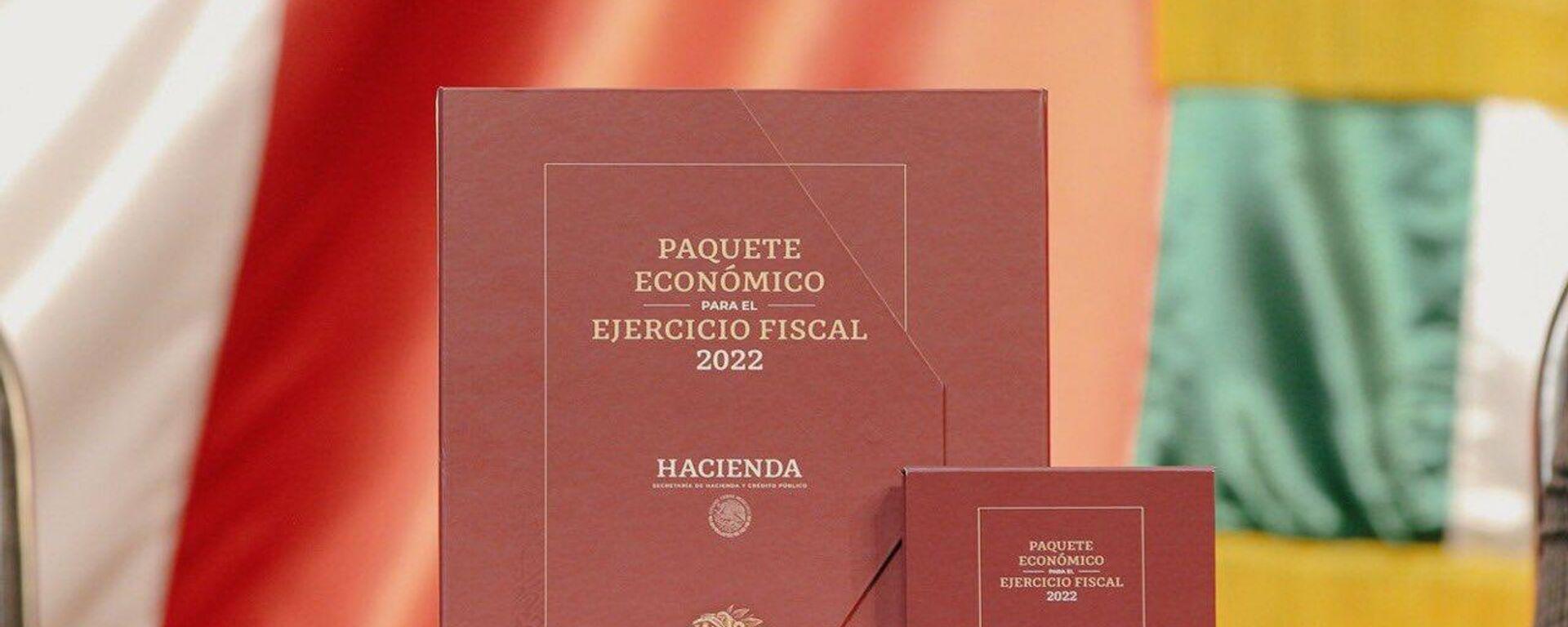 Paquete Económico Fiscal en México para 2022 - Sputnik Mundo, 1920, 08.09.2021