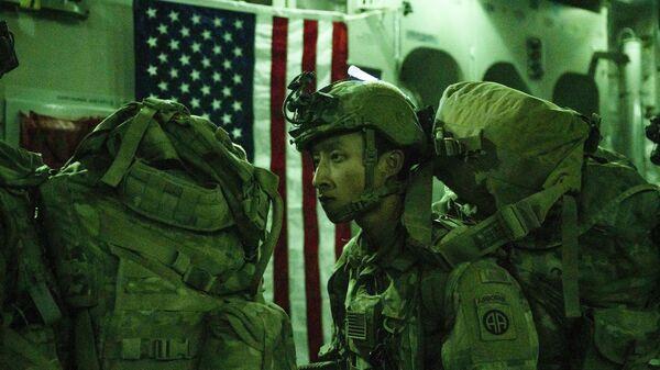 Tropas de EEUU abandonan Afganistán - Sputnik Mundo