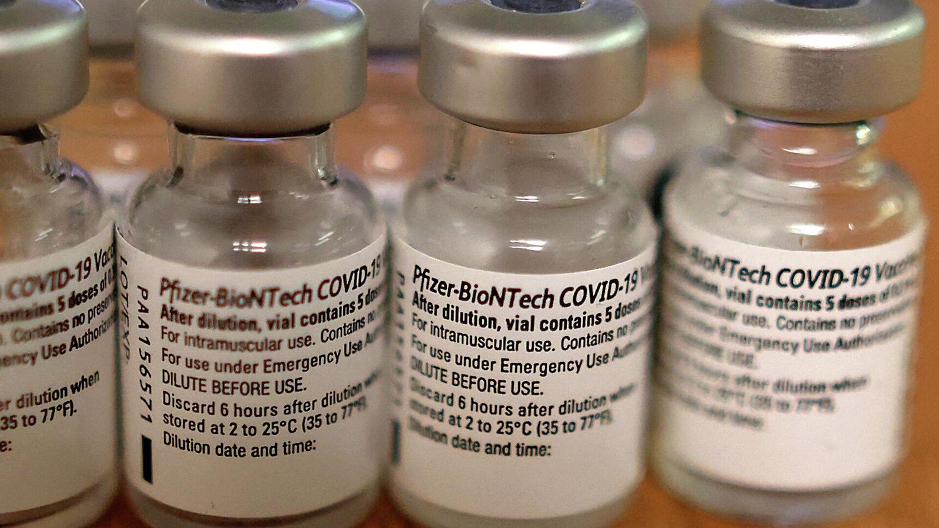 Vacunas contra COVID-19 de Pfizer - Sputnik Mundo, 1920, 10.09.2021