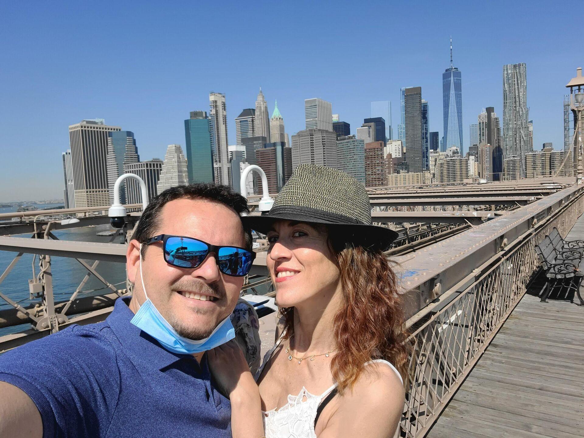 El sevillano Víctor Ortega y su esposa, residentes españoles en Nueva York - Sputnik Mundo, 1920, 10.09.2021
