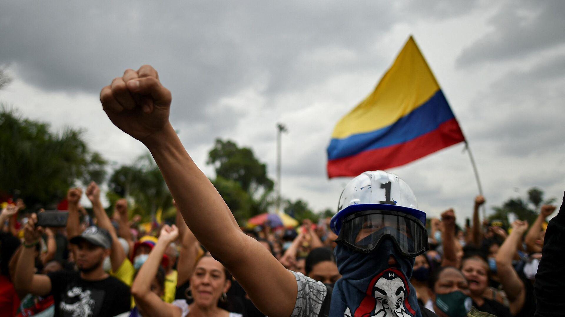 Protestas en Cali, Colombia - Sputnik Mundo, 1920, 09.09.2021