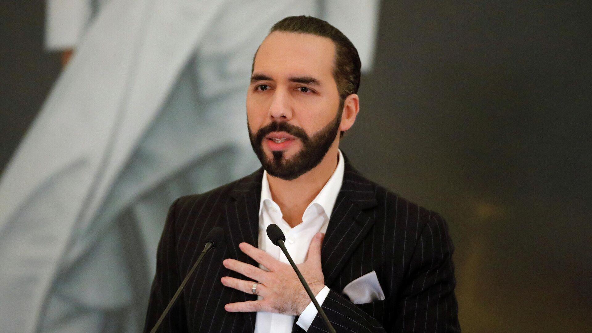 Nayib Bukele, presidente de El Salvador - Sputnik Mundo, 1920, 09.09.2021