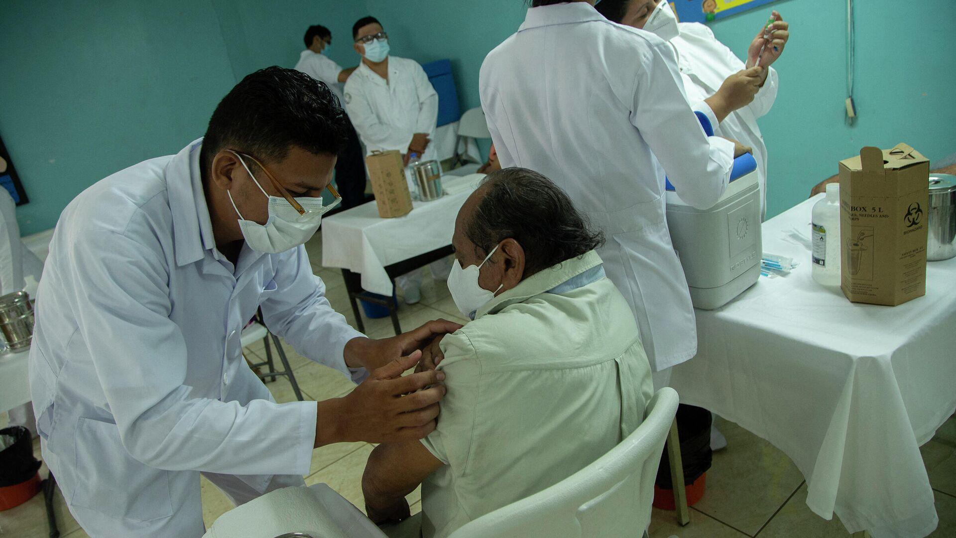 Vacunación contra COVID-19 en Managua, Nicaragua - Sputnik Mundo, 1920, 10.09.2021