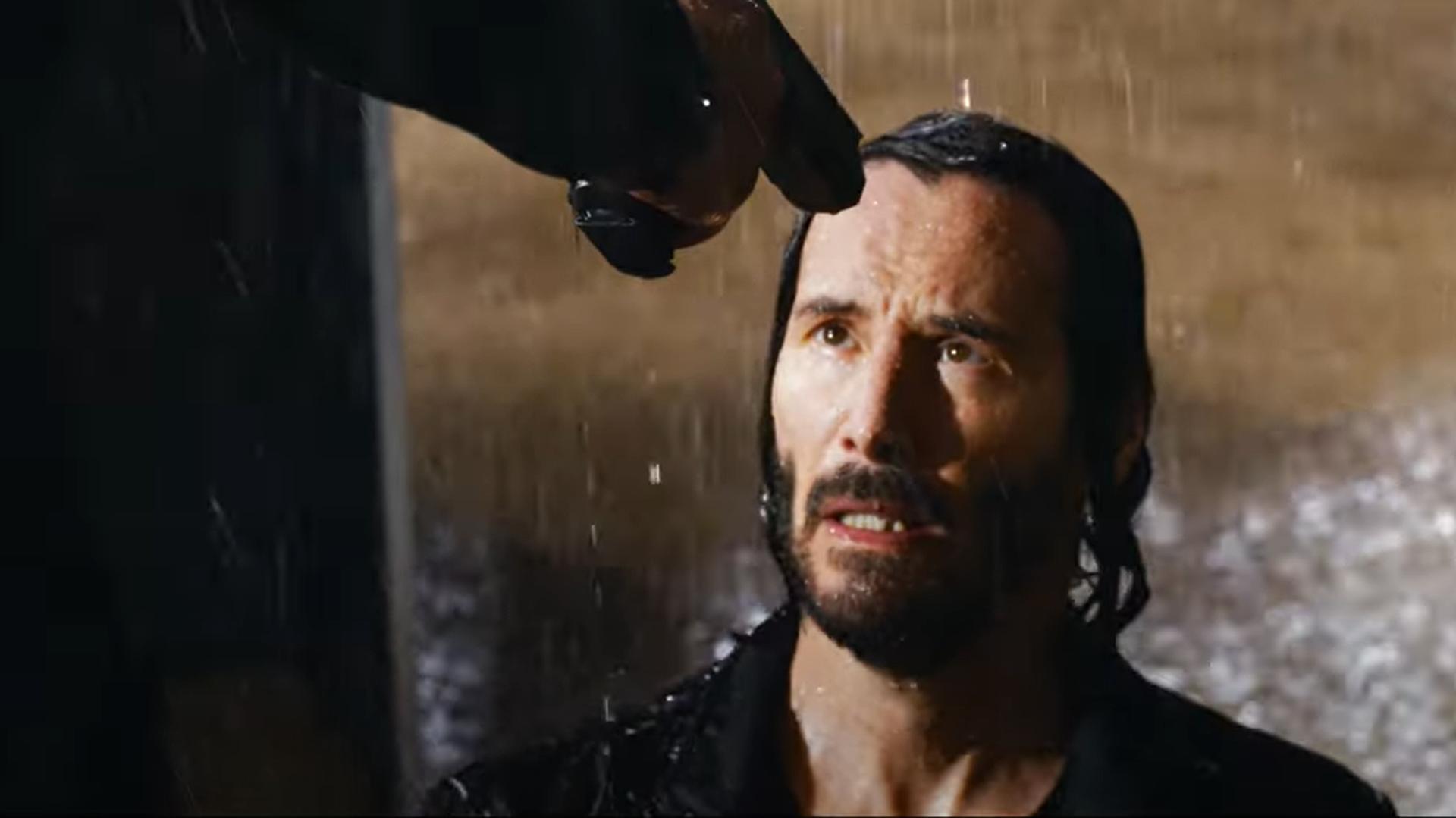 Keanu Reeves en 'The Matrix Resurrections', captura de pantalla - Sputnik Mundo, 1920, 09.09.2021