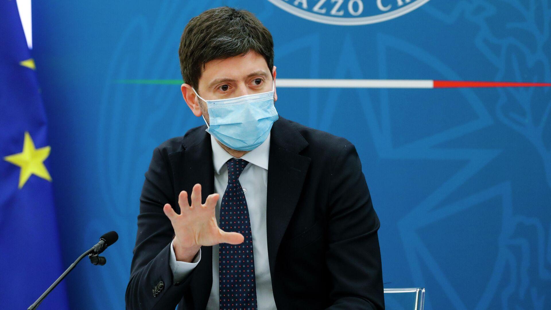 El ministro de Sanidad de Italia, Roberto Speranza - Sputnik Mundo, 1920, 10.09.2021