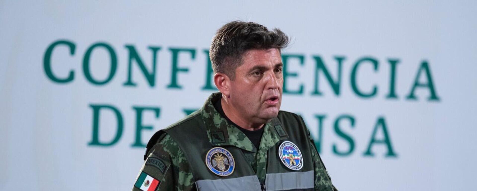 Gustavo Ricardo Vallejo, ingeniero residente general y comandante del Agrupamiento de Ingenieros Felipe Ángeles. - Sputnik Mundo, 1920, 10.09.2021