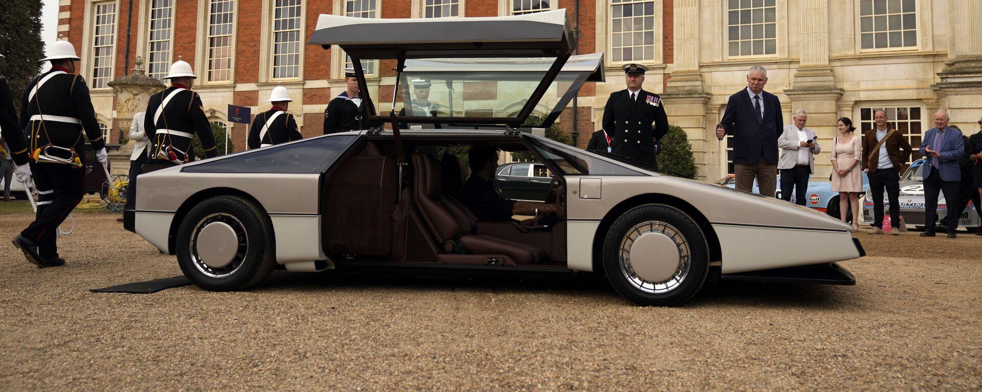 1979 Aston Martin Bulldog Concept presentato nel Regno Unito - Sputnik Mondo, 1920, 09/11/2021
