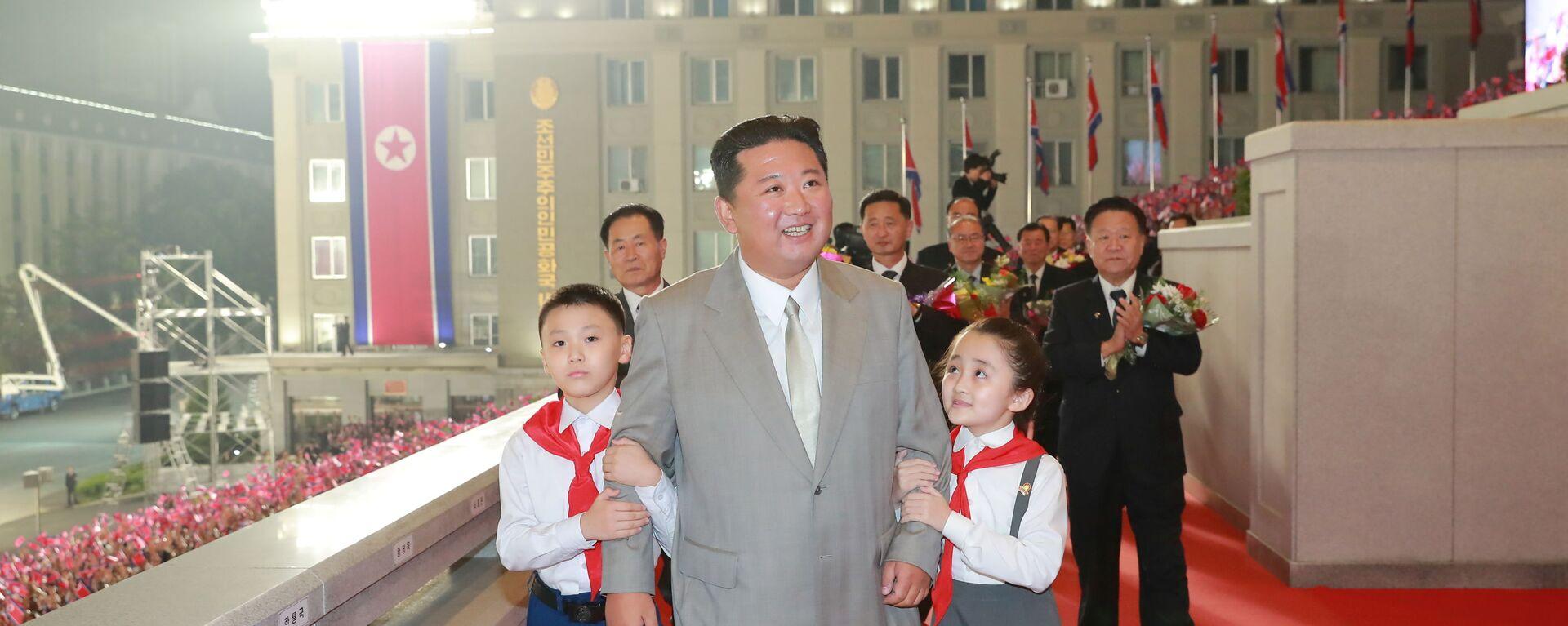 Kim Jong-un, líder de Corea del Norte - Sputnik Mundo, 1920, 13.09.2021