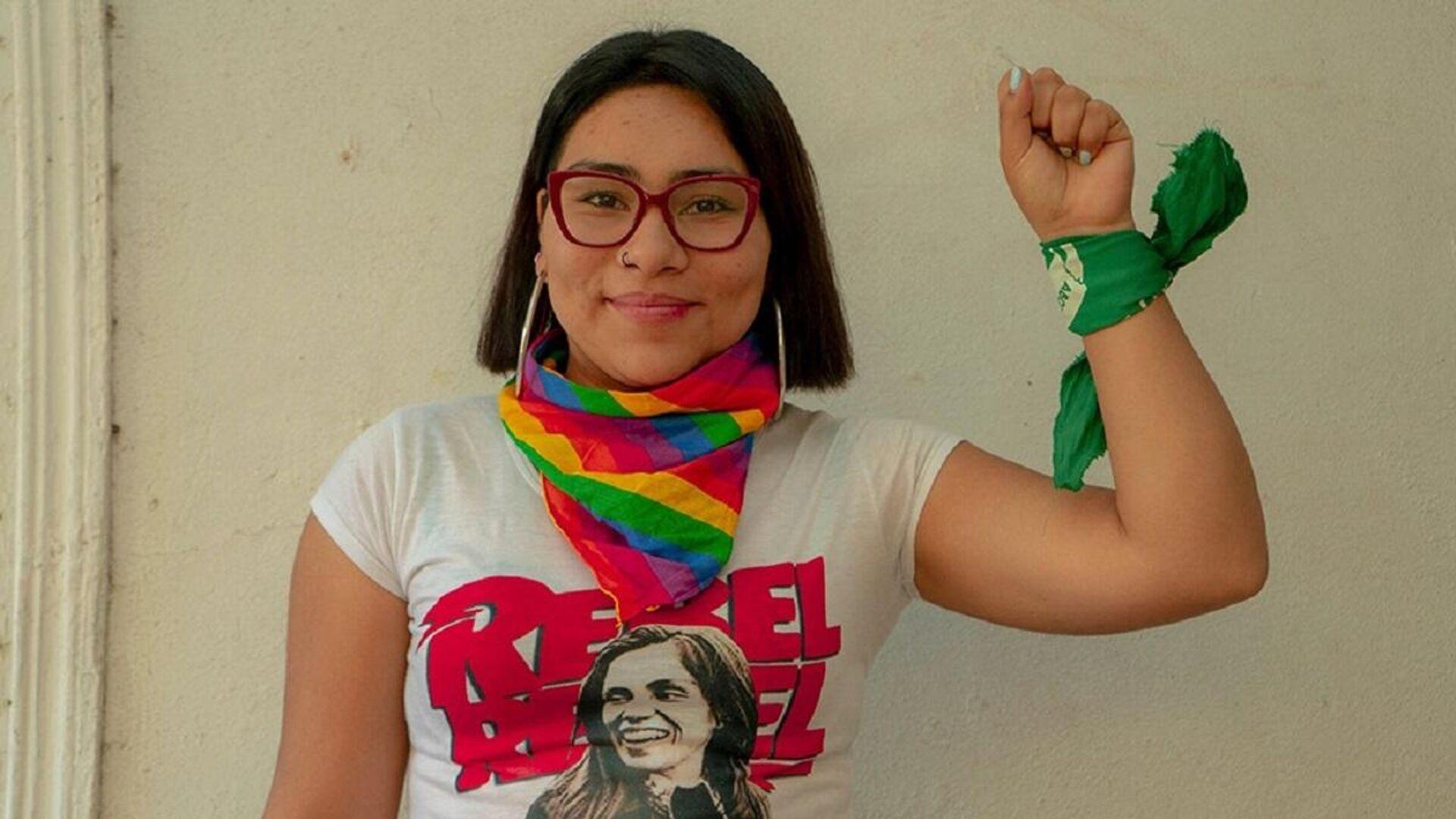 Valentina Miranda, política chilena e integrante de la Convención Constitucional - Sputnik Mundo, 1920, 10.09.2021